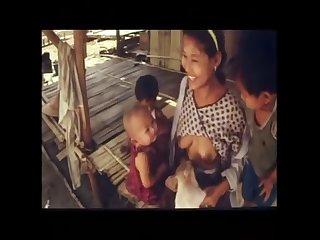 boar breastfeding milk by human